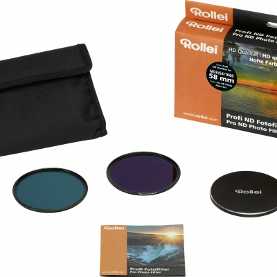 Rollei Profi ND Fotofilter Set 58 mm
