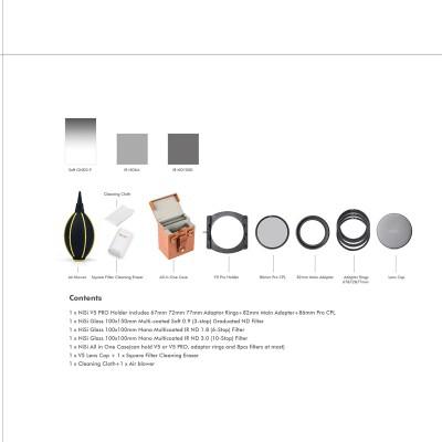 NiSi Starter Kit 100 mm Systeem