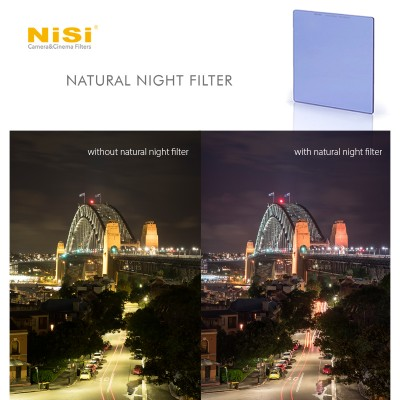 NiSi Natural Night Filter 75x80 mm