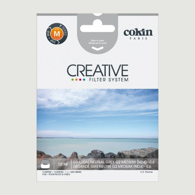Cokin Filter 121M Grad. Neutral Grey G2 ND4 Medium