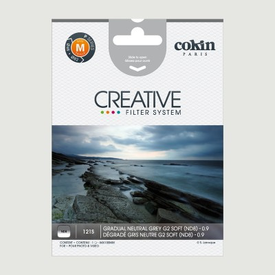 Cokin Filter 121S Grad. Neutral Grey G2 ND8 Soft