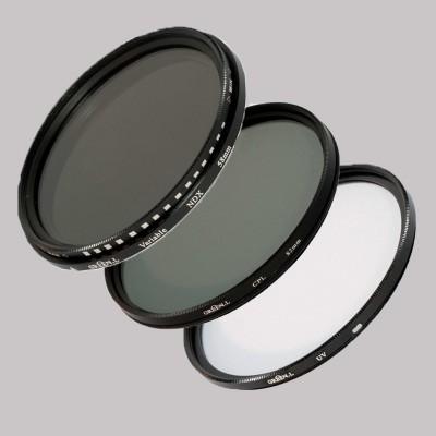 Green.L Filterkit UV-Polarisatie-en Variabel grijsfilter 37 mm