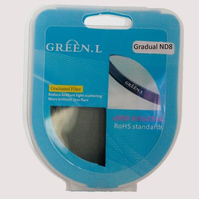 Green.L Gradual ND8 Grijsverloopfilter 67 mm