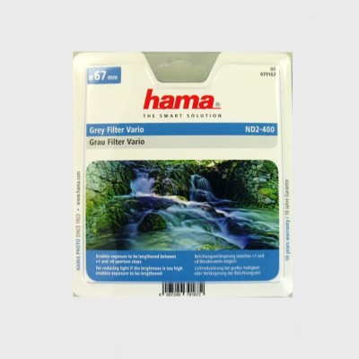 Hama Variabel Grijs Filter Nd2-400 58 mm