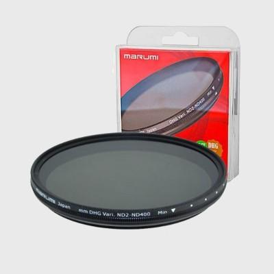 Marumi Grijs Variabel Filter DHG ND2-ND400 58 mm