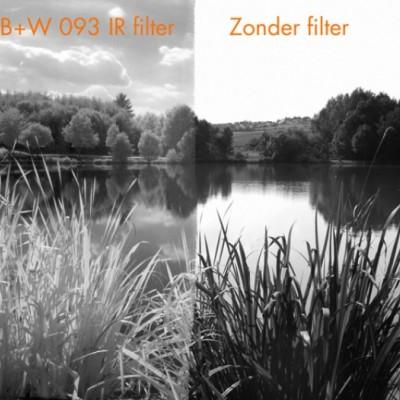 B+W 093 Infraroodfilter 52 E