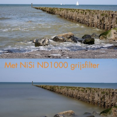 Nisi IR ND1000 (10 stops) Grijsfilter 100 x 100 mm